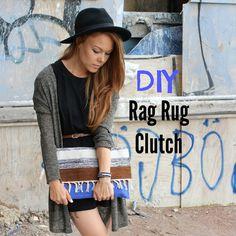 TytDIY: Rag Rug Clutch