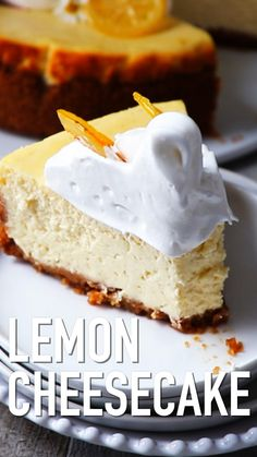 Wedding cake recipes 491385009342101214 - That super creamy Lemon Cheesecake recipe is easy to make and comes with lots of step-by-step photos. Lemon Cheesecake Recipe by Also The Crumbs Please Source by Easy Cake Recipes, Dessert Recipes, Kale Recipes, Blueberry Recipes, Easter Recipes, Drink Recipes, Recipies, Lemon Cheesecake Recipes, Delicious Desserts