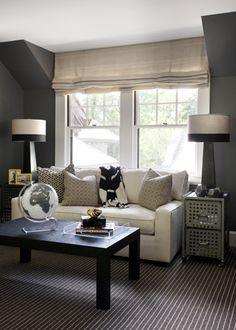 bedroom sitting area.. love the idea of a couch in the master BR for a sitting area.. we have more than enough room