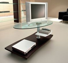 Our contemporary TV stands will provide you with excellent stylish storage opportunities for your TV and any other home cinema devices. Regardless of the design or the color theme you're searching for we are sure to have a modern TV stand that will perfectly compliment your exact contemporary decor. An appropriately chosen modern TV stand can solve the problem of accommodating your TV, enhance its look and enrich any room with luxury and style.