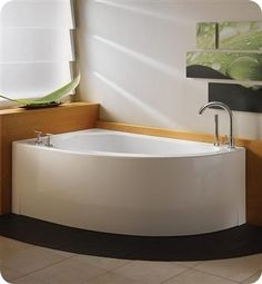 Neptune customizable corner #bath #bathroom
