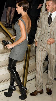 Victoria Beckham Heelless Boots