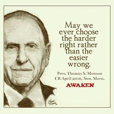 Ldsconf. Awaken to Our Awful Situation