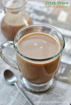 Irish Cream Coffee Creamer - Shugary Sweets