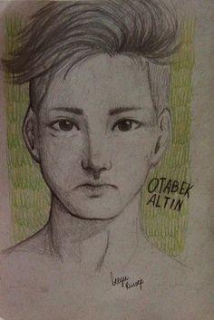 Otabek Altin How to Draw Anime Boy Semi Realism Art