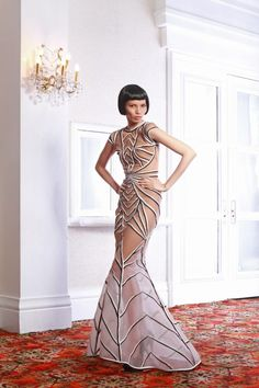 Francis Libiran Dress