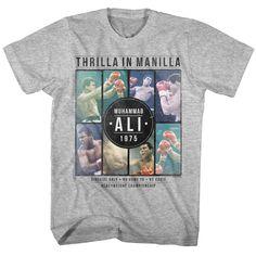 Muhammad Ali Collage Adult T-Shirt