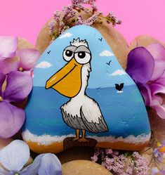 Painted Garden Rocks, Painted Rocks Craft, Hand Painted Rocks, Rock Painting Patterns, Rock Painting Ideas Easy, Rock Painting Designs, Stone Art Painting, Pebble Painting, Pebble Art