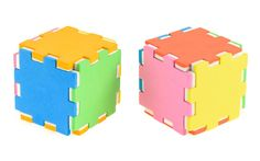 Funny colored cube puzzle:)