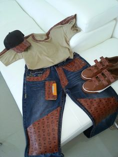 92a7220274b MCM custom shirt, jeans, cap, phone case and sneakers made by  MyExpressionsltd.com.