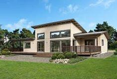 Afbeeldingsresultaat voor одноэтажный дом с односкатной крышей