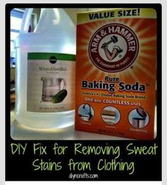 How To Remove Sweat Stains From Clothes!!!!(: #Various #Trusper #Tip