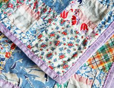 Vintage tiny quilts