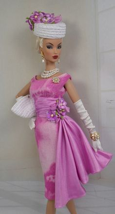 First Hydranga for Silkstone Barbie