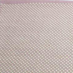 Teppich Punkte Dots, 140 x 200 cm, rosa-mauve/altweiss bei Le Bon Jour
