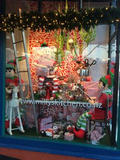 """MILLY'S KITCHEN, Ponsonby, Auckland, New Zealand, """" The Gift Wrapping Station"""", created by Ton van der Veer"""