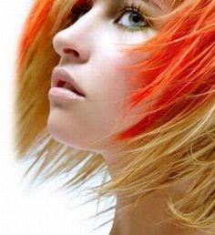 Beautiful colours- Orange and White