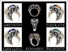 Fledermaus Silber Ring 925 bat ring silver Mittelalter Gothicschmuck