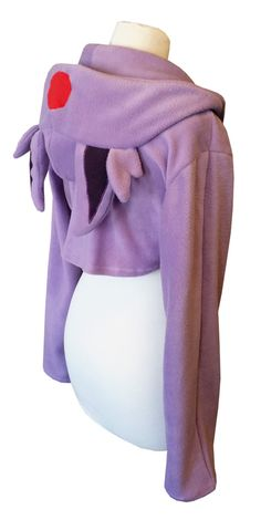 Pokemon Espeon inspired cute lilac hoodie shrug by PretzlCosplay
