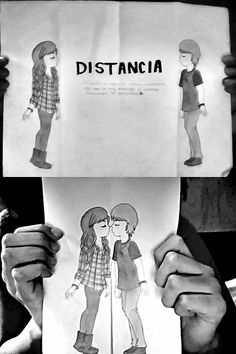 amor a distancia desenho computador - Pesquisa Google What Is Love, Im In Love, Love Of My Life, Cute Love Quotes, Cute Relationships, Relationship Goals, Sketch Style, Long Distance Love, Couple Illustration