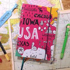 🌞🌞 Un viaje de mil millas comienza con el primer paso🌞🌞.😍 Si pensas irte de viaje!🌎 no te puede faltar en tu valija este increible #diariodeviaje 📔 🌎💼  ✈️🚀🚗🚌🚎  💣Trae hojas lisas y rayadas  💣 Tips para el viajero  💣 Un mapa desplegable  💣 Tapa dura (💡 puede ser personalizada💡), elastico y señalador  💣 Papel bookcel 80gr  💣 Medidas 16x23 cm - Tambien version pocket 16x12 cm 💣  📦 Hacemos envios a todo el país!  cuadernosbrio@hotmail.com  2235275403   #diariodeviaje…