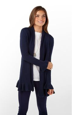 Lily Pulitzer connell sweater, navy