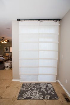 White Sliding Glass Door Curtain Shade Products