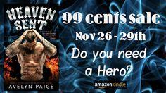 Heaven Sent Sales Blitz @AvelynPaige @SaintNSinbooks - http://roomwithbooks.com/heaven-sent-sales-blitz/