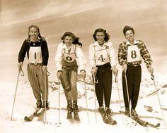 1948 Woman's Ski Team