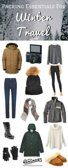40 Essentials For Every Winter Travel Packing List, , travel outfit summer, Japan Outfit Winter, Winter Outfits, Winter Travel Outfit, Travel Outfits, Travel Fashion, Travelling Outfits, Winter Ootd, Traveling, Winter Clothes