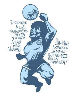 Diego Maradona. Caricatura. Football Tattoo, Football Art, Sport Football, Football Players, Maradona Tattoo, Soccer Art, Lionel Messi, Neymar, Reggae