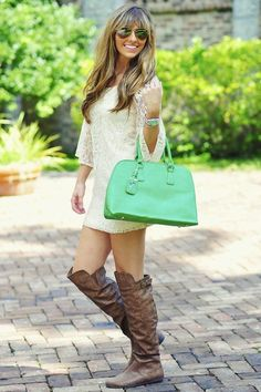 How to Wear Boots with Dress and Look Fab - Glam Bistro