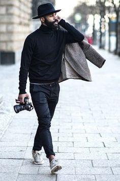 Men's #StreetStyle.