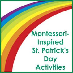 Montessori-Inspired St. Patrick's Day Activities - roundup post with LOTS of ideas for home or classroom