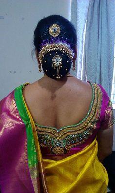 Bun Rolled Flowers Bridal Bun, Bridal Hairdo, Indian Wedding Hairstyles, Bun Hairstyles For Long Hair, Latest Fashion For Girls, Girl Fashion, Fashion Ideas, Fashion Beauty, Indian Hair Cuts