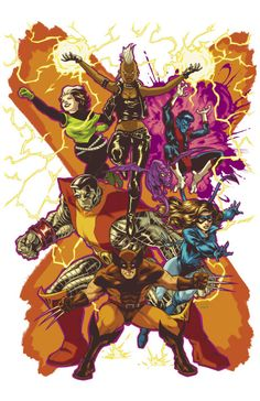 Classic X-Men - Brendan Cahill, Colors: Jason Lewis