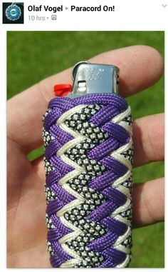 Paracord lighter