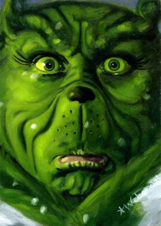How the Grinch Stole Christmas... The book, both movies, anything and everything Grinch.