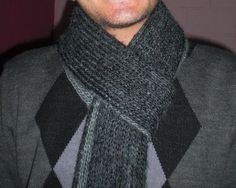 Men Scarf (two colors) | Craftsy