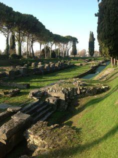 Aquileia, Udine, Roman river port. fdf 13