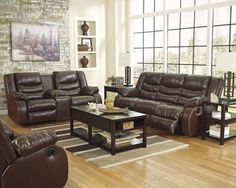 Linebacker DuraBlend - Espresso - Reclining Sofa & DBL Rec Loveseat by Signature Design by Ashley. Get your Linebacker DuraBlend - Espresso - Reclining Sofa & DBL Rec Loveseat at Wayside Furniture, Joplin MO furniture store. Traditional Living Room Furniture, Farmhouse Living Room Furniture, Living Room Furniture Layout, Living Room Furniture Arrangement, Couch Furniture, Furniture Market, Living Room Sets, Upholstered Furniture, Furniture Makeover