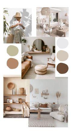 Home Room Design, Interior Design Living Room, Mood Board Interior, Room Ideas Bedroom, Bedroom Decor, Home Living Room, Living Room Decor, Beige Living Rooms, Aesthetic Room Decor