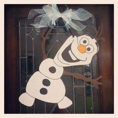 Olaf Door Hanger