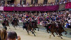 Held twice each year in #Siena, #Italy, #PaliodiSiena is a wonderful horse racing festival.