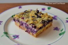 Great recipe for the blueberry fan in your life. Shared from blogger, Hot Eats and Cool Reads