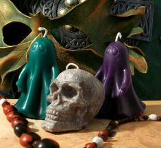 Ghost Pillar Beeswax Candle Your Choice Of Color