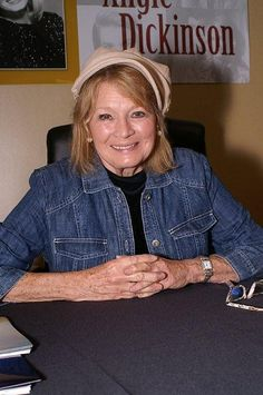 """Angie Dickenson, 81.   Angie Dickinson b 30SEP1931, an American actress, best known for her roles in the films Rio Bravo and Dressed to Kill, and for starring on television as Sergeant Suzanne """"Pepper"""" Anderson on the 1970s crime series Police Woman."""