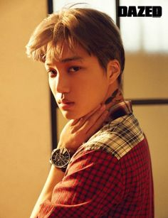 EXO's Kai decorates the December cover of 'Dazed' | allkpop.com