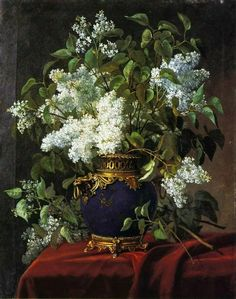 Art for the Ages: Photo Lilac Painting, Realistic Oil Painting, Oil Painting Flowers, Art Floral, Still Life Flowers, Beautiful Flowers Wallpapers, Image Painting, Painting Still Life, Art Themes