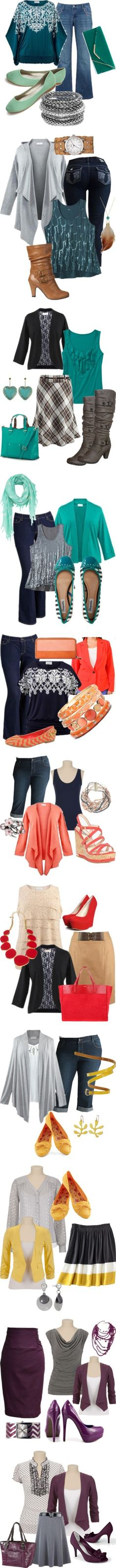 """plus size fashions"" by sarubbia on Polyvore"